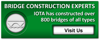 Bridge Construction Experts | IOTA has constructed over 800 bridges of all types